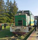 In the Carpathian region, a documentary film about narrow-gauge bands is being shot.
